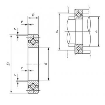 100 mm x 150 mm x 20 mm  100 mm x 150 mm x 20 mm  IKO CRB 10020 UU thrust roller bearings