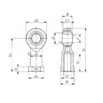 IKO PHS 30 plain bearings
