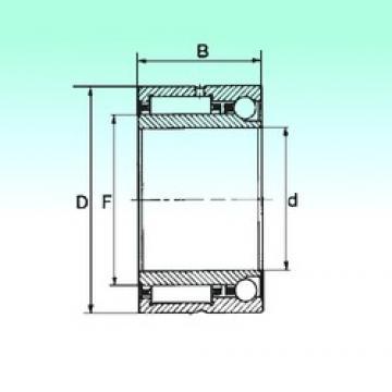 70 mm x 100 mm x 40 mm  70 mm x 100 mm x 40 mm  NBS NKIA 5914 complex bearings