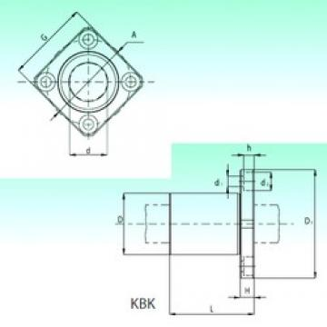 NBS KBK 20-PP linear bearings