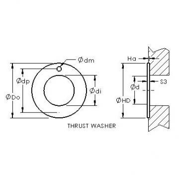 AST ASTEPBW 4874-020 plain bearings