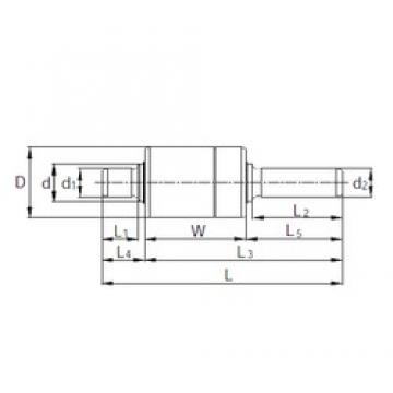 KBC RW387401A complex bearings