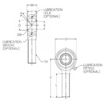 4 mm x 18 mm x 4 mm  4 mm x 18 mm x 4 mm  NMB HR4E plain bearings