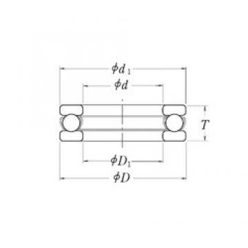 RHP XLT8.1/2 thrust ball bearings