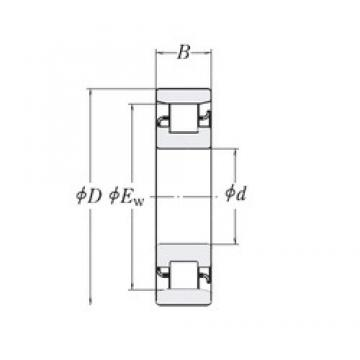 25,4 mm x 63,5 mm x 19,05 mm  25,4 mm x 63,5 mm x 19,05 mm  RHP MRJ1 cylindrical roller bearings