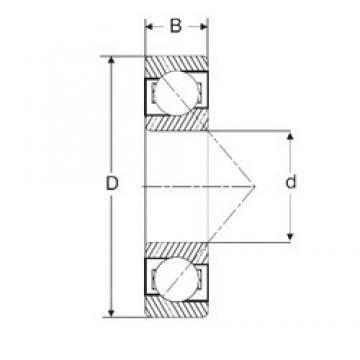 47,625 mm x 114,3 mm x 26,99 mm  47,625 mm x 114,3 mm x 26,99 mm  SIGMA MJT 1.7/8 angular contact ball bearings