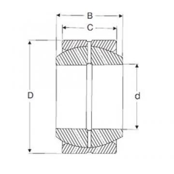 50,8 mm x 90,488 mm x 52,578 mm  50,8 mm x 90,488 mm x 52,578 mm  SIGMA GEZH 200 ES plain bearings