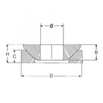 50 mm x 130 mm x 33,5 mm  50 mm x 130 mm x 33,5 mm  SIGMA GE 50 AX plain bearings