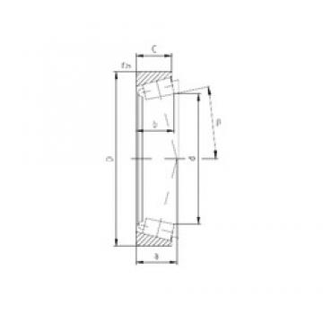 ZVL PLC63-1 tapered roller bearings