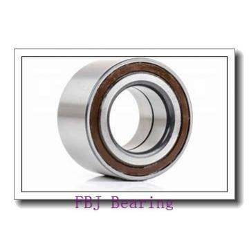 55 mm x 125 mm x 90 mm  55 mm x 125 mm x 90 mm  FBJ GEK55XS-2RS plain bearings