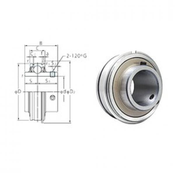 38,1 mm x 80 mm x 49,2 mm  38,1 mm x 80 mm x 49,2 mm  FYH ER208-24 deep groove ball bearings #2 image