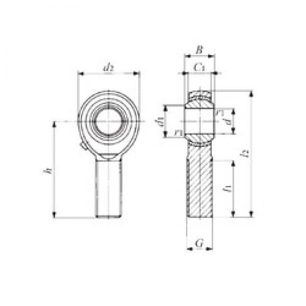 IKO POS 6 plain bearings #2 image