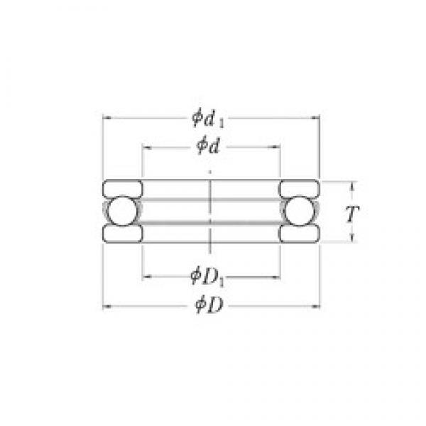 RHP LT5/8B thrust ball bearings #2 image