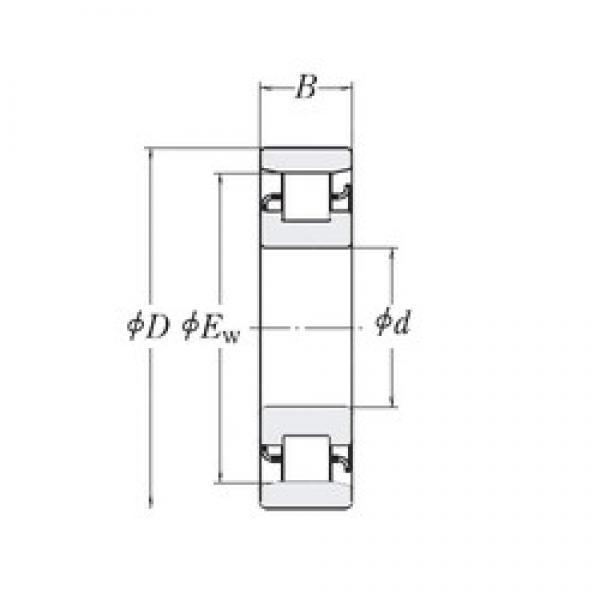88,9 mm x 206,375 mm x 44,45 mm  88,9 mm x 206,375 mm x 44,45 mm  RHP MRJ3.1/2 cylindrical roller bearings #2 image